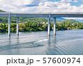 북한강에서 즐기는 수상스키 57600974