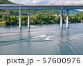 북한강에서 즐기는 수상스키 57600976