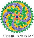 Colorful korean traditional motifs illustration 055 57615127