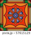 Colorful korean traditional motifs illustration 002 57615129