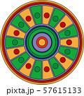 Colorful korean traditional motifs illustration 042 57615133