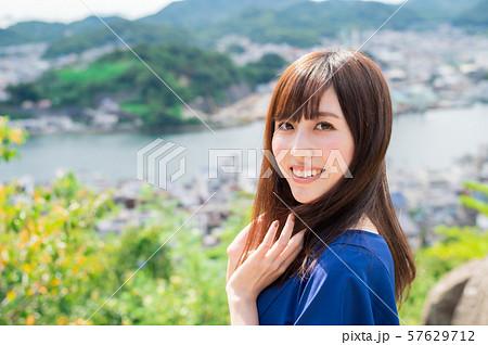 若い女性 観光 尾道 女子旅 57629712