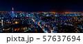 Aerial view of Tokyo, Japan 57637694