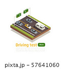 Driving Practices Isometric Composition 57641060