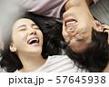 カップル ライフスタイル 寝室  57645938