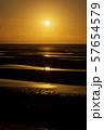 真玉海岸の夕日 57654579