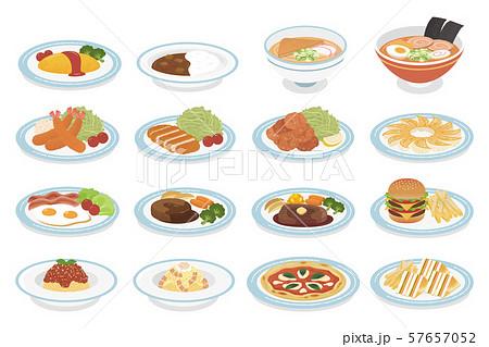 様々な料理 57657052