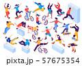Extreme City Sport Isometric Set 57675354
