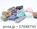 指輪 ルビー ダイヤモンド 鉱石 57686745