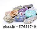 指輪 ルビー ダイヤモンド 鉱石 57686749