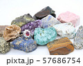 指輪 ルビー ダイヤモンド 鉱石 57686754