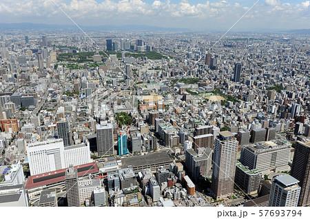 上本町駅上空から空撮 57693794