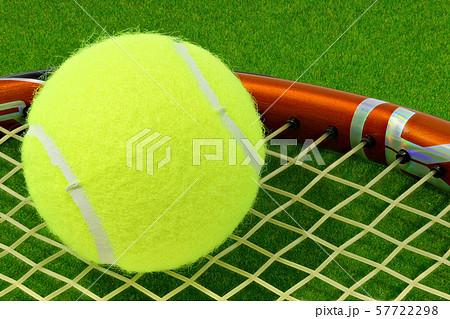 テニスボール (深度合成) 57722298