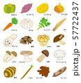 秋季の野菜 57722437