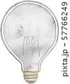 明かりの消えた電球 57766249