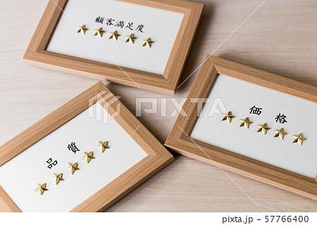 五つ星・顧客満足度 品質 価格 57766400