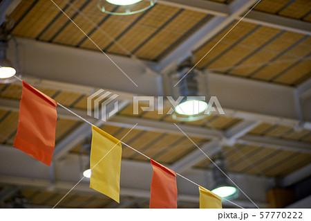 体育館・祭り・天井・飾り付け 57770222