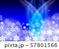 雪の結晶 57801566