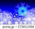 雪の結晶とクリスマスイメージ 57801568