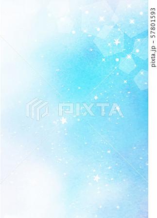 星空 キラキラ 水彩テクスチャ 縦デザイン 57801593