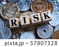 RISK・リスク・日本円 57807328