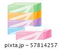 箱ティッシュ 57814257
