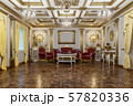 3d rendering of the hall in classical style 57820336