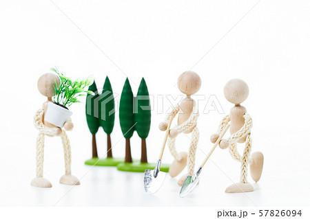 ECO エコ エコロジー 環境 環境問題 ガーデニング 園芸 57826094