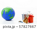 ECO エコ 地球 地球儀 エコロジー 環境 57827667