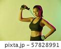 女性 スポーツ アスリート  57828991