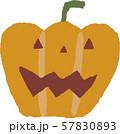 ハロウィンのかぼちゃ 57830893