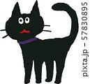 ハロウィンの猫 57830895