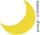ハロウィンの月 57830899