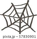 ハロウィンのクモの巣 57830901