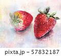 イチゴ・苺・水彩画 57832187