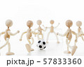 サッカー スポーツ フットボール  サッカー選手 57833360