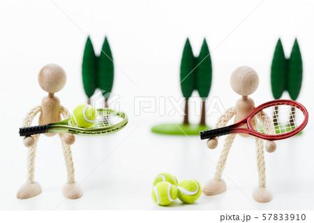 テニス 庭球 テニスボール ラケット  57833910