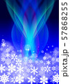 雪の結晶 57868255
