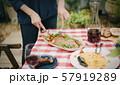 ホームパーティー テラス ガーデン 料理 57919289
