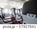 飛行機内の景色 57927641