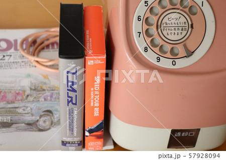 ピンク電話機 57928094