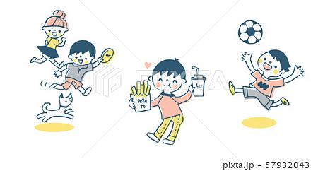 元気な子供たち セット 57932043