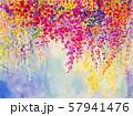 Original  landscape painting of flowers. 57941476