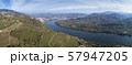 Panorama of vineyards in Douro Valley 57947205