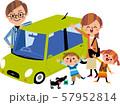 家族でドライブ 57952814