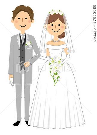 新郎新婦 結婚式 57955689