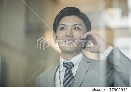 ビジネスマン 57963915
