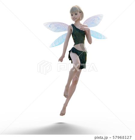 可愛い妖精 perming3DCG イラスト素材 57968127