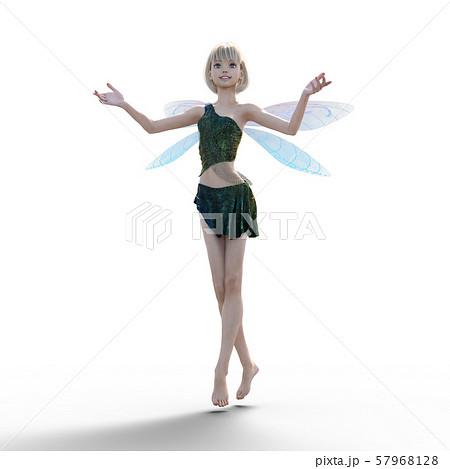 可愛い妖精 perming3DCG イラスト素材 57968128