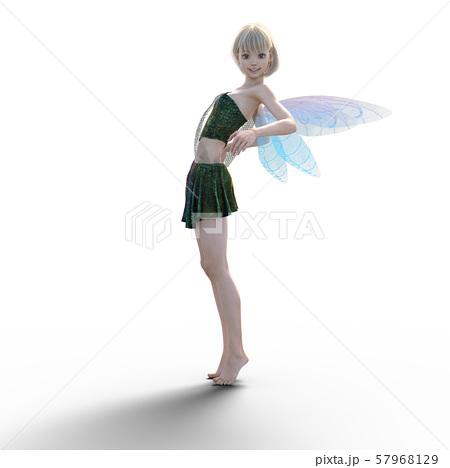 可愛い妖精 perming3DCG イラスト素材 57968129